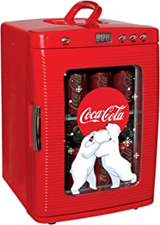 Coca Cola KWC-25 Capacity Portable 12-V Car Fridge, LED Disp