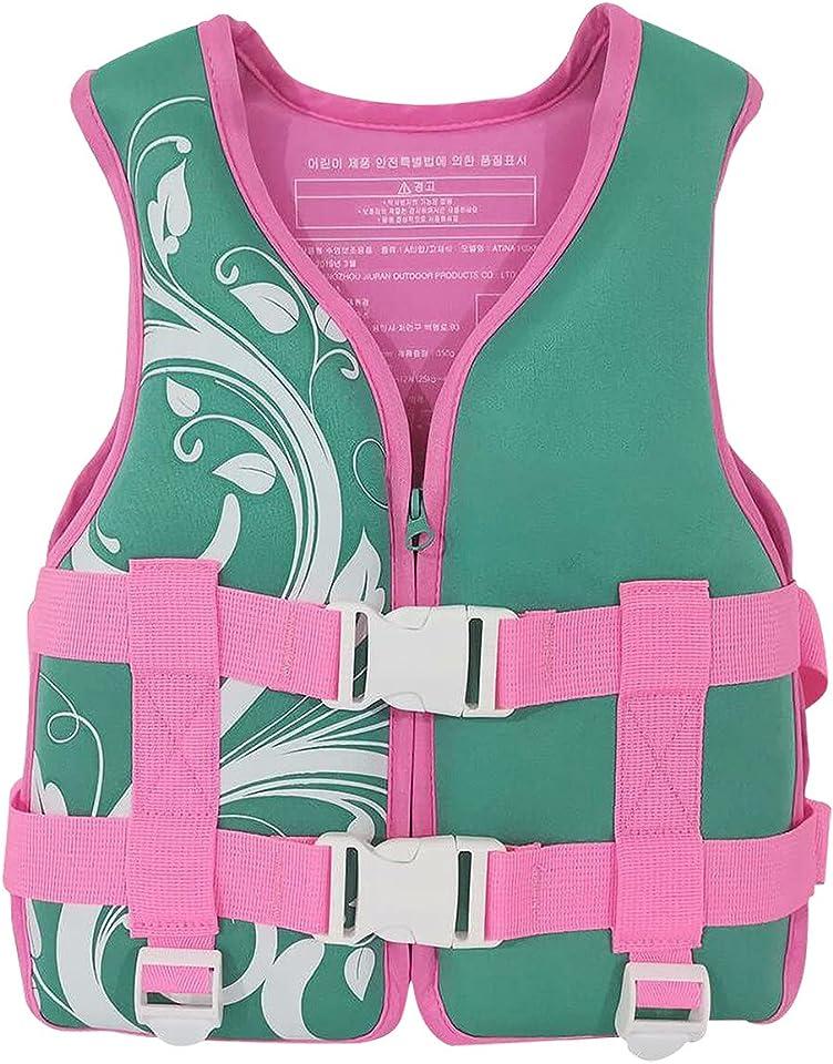 Sommer Schwimmweste Kinder 15-30kg Verstellbare Rettungsweste Schwimmweste für Boote Licht Auftriebsweste Kinder Tauchausbildung Schwimmwesten Kinderschwimmwesten
