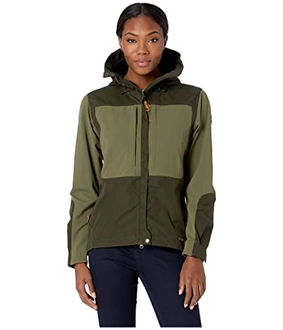 Fjallraven Keb Jacket (Deep Forest/Laurel Green) Women
