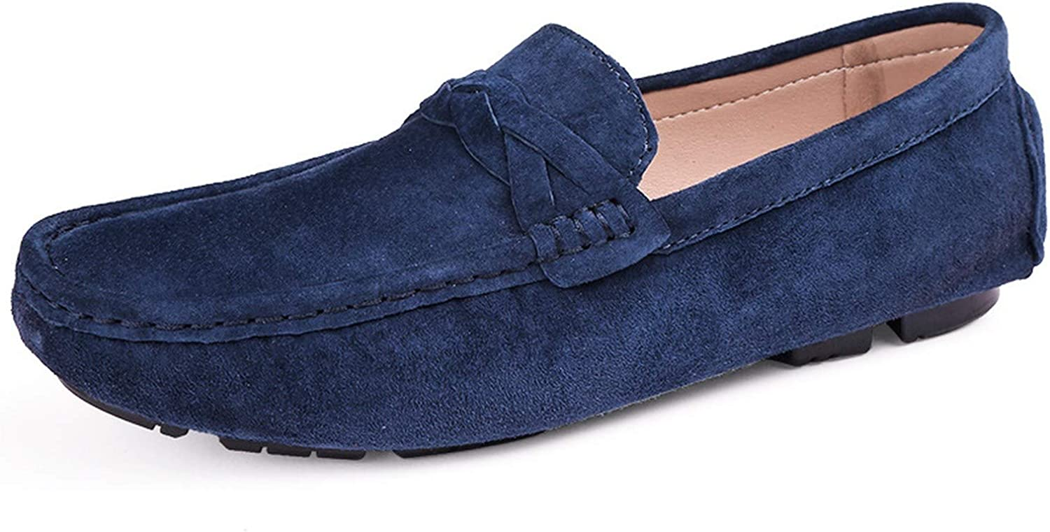 It's a big deal Men shoes Split Leather Men Loafers Moccasins Slip On Driving Men's Flats Loafers Male shoes