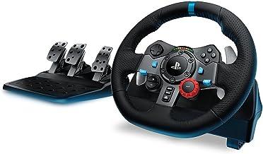 Logitech G - G29 Driving Force - Volante para Simulador de Carreras para PS4 y PC - Negro