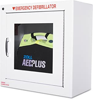 ZOLL 80000855 AED Wall Cabinet, 17w x 9 1/2d x 17h, White