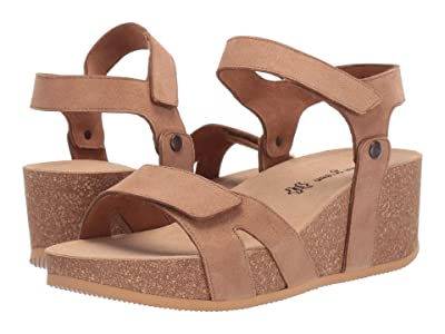 Paul Green April Sandal (Nut Sparkle Suede) Women