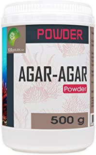 Agar Agar Powder - 1.10 Lbs - 500 gr - 16 Oz