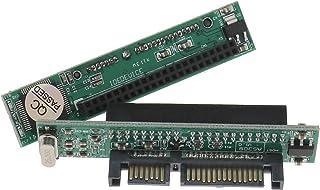 SING F LTD 2pcs IDE to SATA Adapter 44 pin 2.5' HDD SSD Laptop Hard Drive Female To 22pin(7+15 pin) Male SATA Converter Cards
