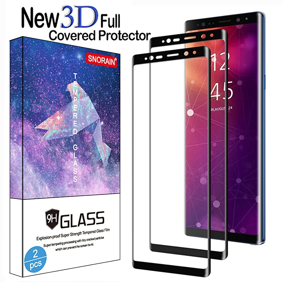 Galaxy S9 Plus Screen Protector, (2-Pack) Tempered Glass Screen Protector [Force Resistant up to 11 pounds] [Full Screen Coverage] [Case Friendly] for Samsung S9 Plus(6.2