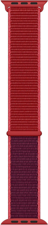 Apple Watch Sport Loop (44mm) (Product) RED (Renewed)