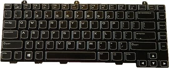 US Layout Backlit Keyboard for Dell Alienware M14x R2 Compatible PK130ML1B00 NSK-AKW01 0M23FN M23FN