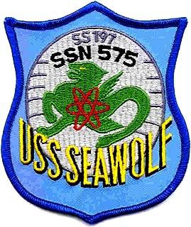 SSN-575 USS Seawolf Patch