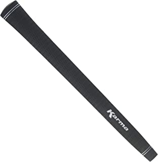 Set of 13 Karma Black Velvet Tour Pro Golf Grips 0.600