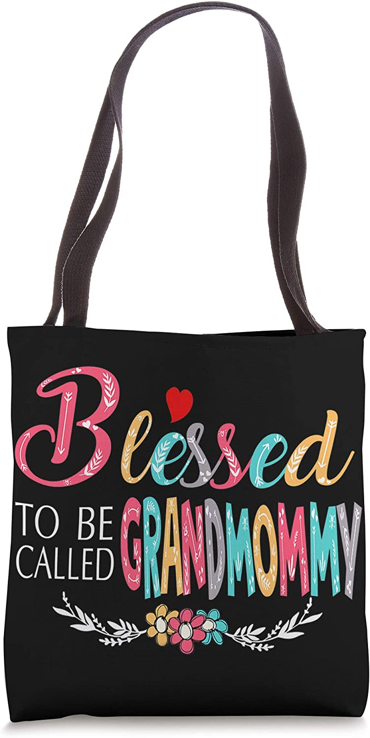 Blessed to be called Grandmommy Colorful For Grandma Tote Bag