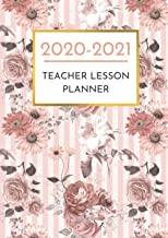 Teacher Lesson Planner: Weekly and Monthly Agenda Calendar & Lesson Organizer