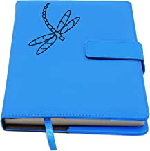 The Dragonfly Journal | Strong Clasp, Refillable Writing Journal, Faux Leather Journal, 200 Lined Pages, 5 x 8 Inch, A5 | ...