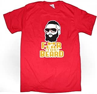 RED Houston Harden Fear The Beard T-Shirt