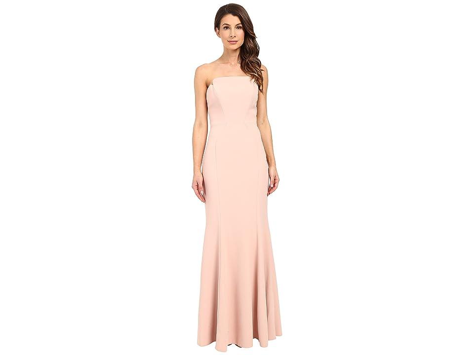 JILL JILL STUART Harlow Strapless Hourglass Gown (Rosy Nude) Women