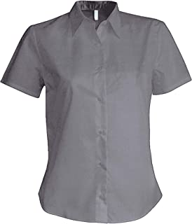 Eterna Camicia Manica Lunga Modern Fit con Button-Down Colletto Cotone Oxford Blu//Turk