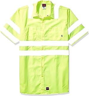 Red Kap Men's Hi Visibility Class 2 Level 2 Work Shirt