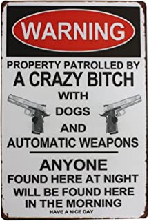 Best crazy warning signs Reviews