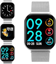Smart Watch Heart Rate Monitor Fitness Tracker with Sleep Monitor Stopwatch Pedometer Calorie Sport Watch for Men & Women Compatible with Android and iOS