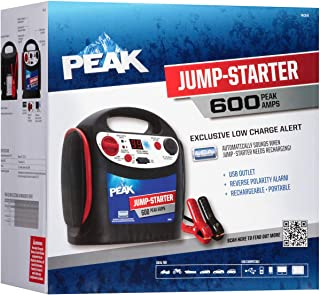 PEAK Portable Jump Starter, 600 AMP