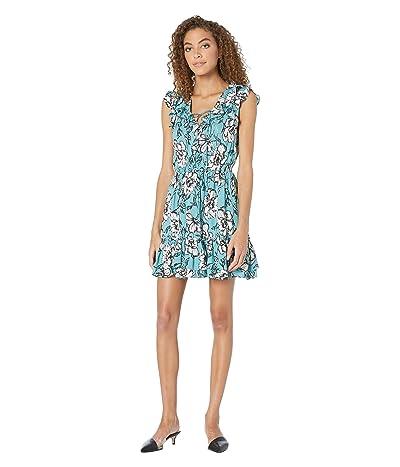 Jack by BB Dakota Pretty Perfect Dress (Mineral Blue) Women