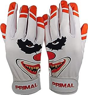 "Primal Baseball "" Crazy Clown Baseball Batting Gloves"