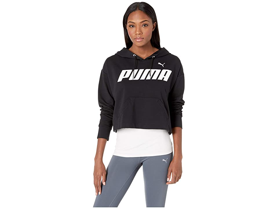 PUMA Modern Sports Hoodie (Cotton Black/White) Women