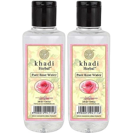 Ayurdaily Pure Rose Water/Skin Toner/Cleanser Men & Women (210 ml) Pack of 2