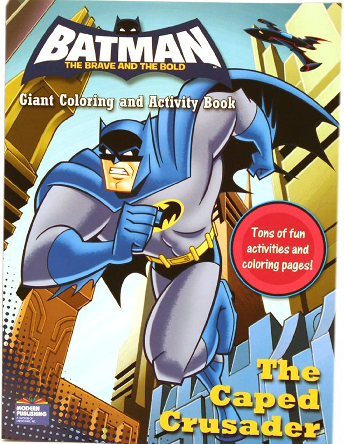 Batman the Brave and the Bold Giant Farbeing and Activity Books (set of 2) by DC Comics B002WDIQAO | Deutschland