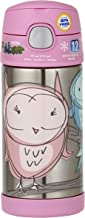 Thermos FUNtainer Insulated Drink Bottle, 355ml, Owl, F4011OW6AUS