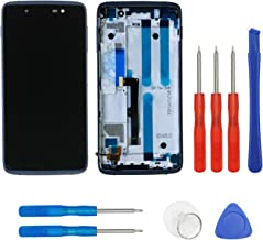 LCD Screen Compatible with BlackBerry DTEK50 STH100-1 Touch Digitizer Assembly + Frame with Repair Tools kit (Black)