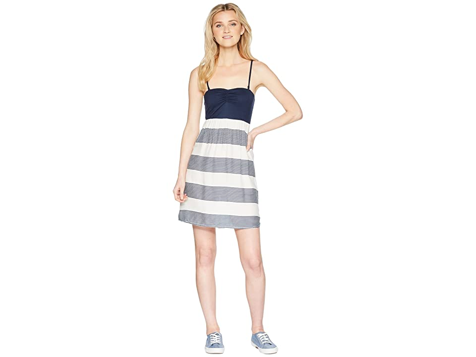 Roxy Ocean Romance (Marshmallow Dress Blue Docker) Women