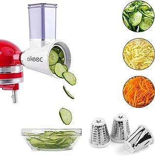 Slicer Shredder Attachment for KitchenAid Stand Mixer,Cheese Grater Attachment,Fresh Prep Attachment as Kitchenaid Mixer A...
