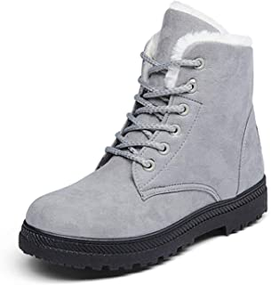 Women Boots 44 Snow Boot Heels Boots Ankle Botas Plush Insole Shoes