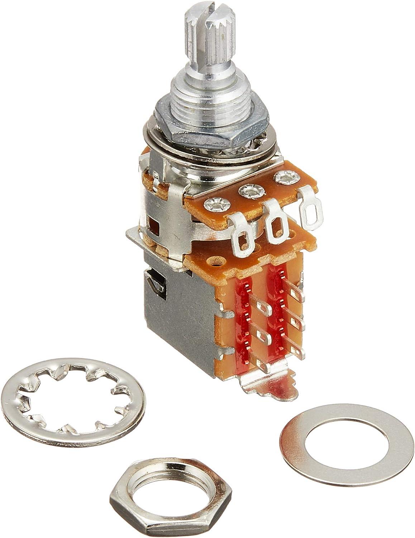 Fender 250K Recommendation Push Pull Potentiometer Shaft Split Direct sale of manufacturer