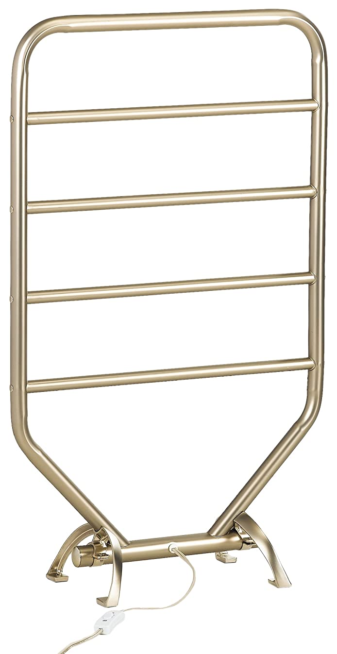 Warmrails RTS Traditional Wall Mounted or Floor Standing Towel Warmer, Nickel Finish