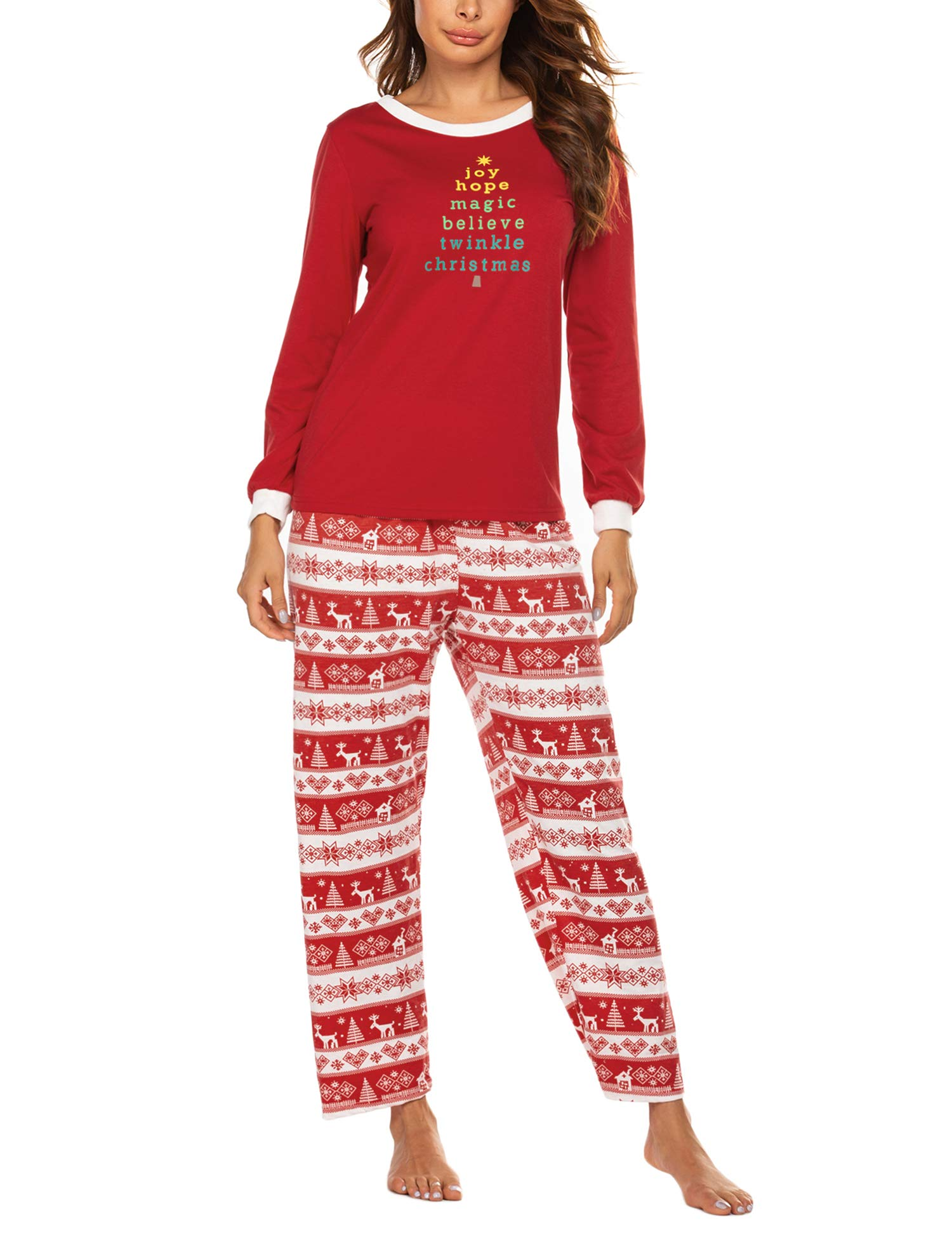 Image of A Popular Pick: Women's Christmas Pajamas - See More Holiday Designs