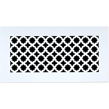 Decorative Vent Cover For A 14x8 Opening Resin Paint Grade Grille Can Be Used As Return Supply Foundation Vent Register Heritage Decorative Design 16x10 Overall Size Amazon Com