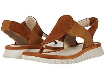 The FLEXX Shore Bet (Cognac Suede) Women