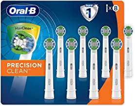 Oral B Oral-B Precision Clean Replacement Brush Heads, 8-pack
