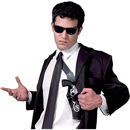 Widmann 04116 adultes Gangster épaule Holster avec Pistolet
