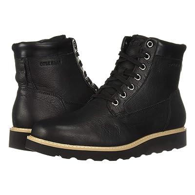 Cole Haan Nantucket Rugged Plain Boot (Black) Men