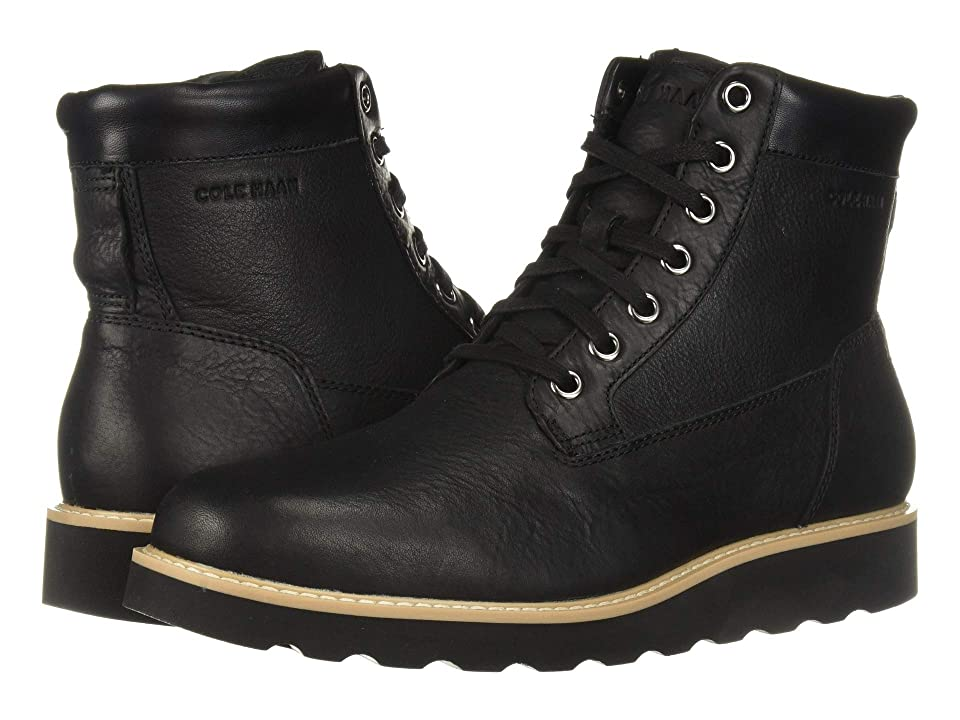 Cole Haan Nantucket Rugged Plain Boot (Black) Men