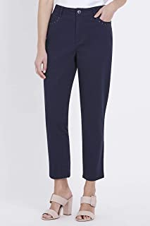W.Lane Embroidered Ankle Pant - Womens