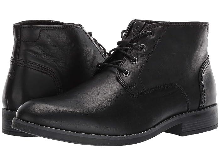 60s Mens Shoes | 70s Mens shoes – Platforms, Boots Rockport Colden Chukka Black Mens Shoes $79.95 AT vintagedancer.com