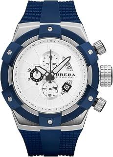 BRERA OROLOGI - Reloj de Cuarzo Analógico para Hombre con Correa de Goma Mod. Supersportivo Brssc4905e