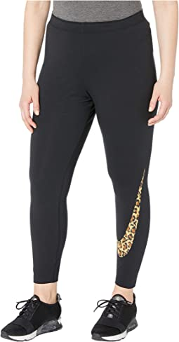 Plus Size Sportswear Leggings Animal