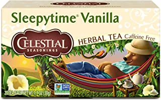 Celestial Seasonings Herbal Tea, Sleepytime Vanilla, 20 Count (Pack of 6)