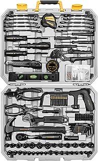 DEKOPRO 218-Piece General Household Hand Tool kit, Professional Auto Repair Tool Set for Homeowner, General Household Hand...