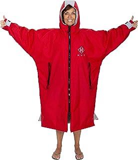 HUT Premium Waterproof Change Robe - Waterproof, windproof, super-warm changing robe. Long sleeve, unisex, two sizes (M+L)...